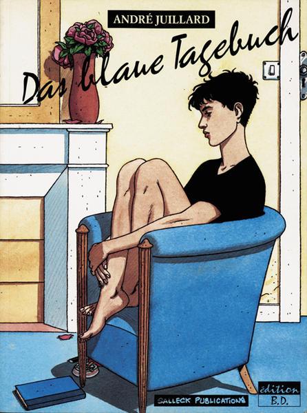 Das blaue Tagebuch - Coverbild