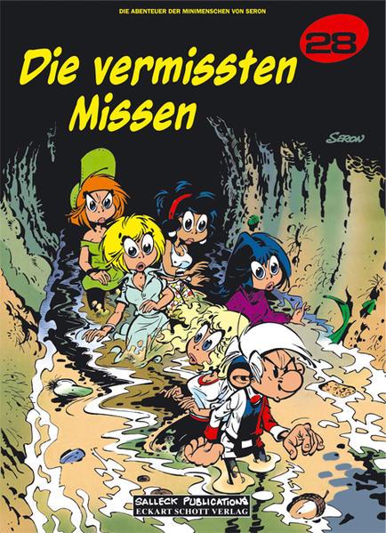 Die Abenteuer der Minimenschen - Coverbild