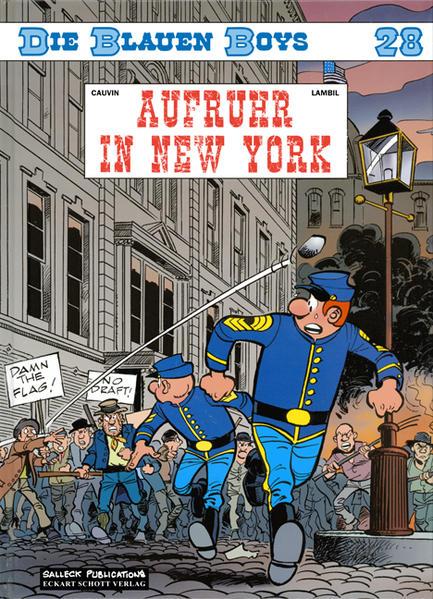 Die blauen Boys - Coverbild