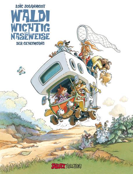 Waldi Wichtig und die Naseweise - Coverbild