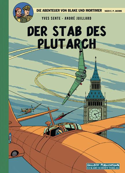 Blake und Mortimer 20 Vorzugsausgabe: Der Stab des Plutarch - Coverbild
