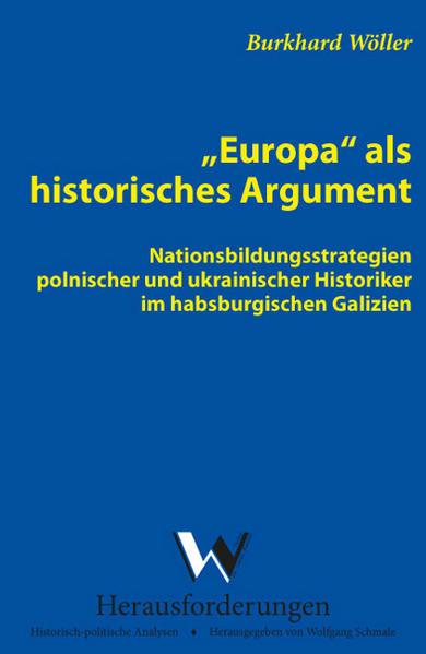 Europa als historisches Argument - Coverbild