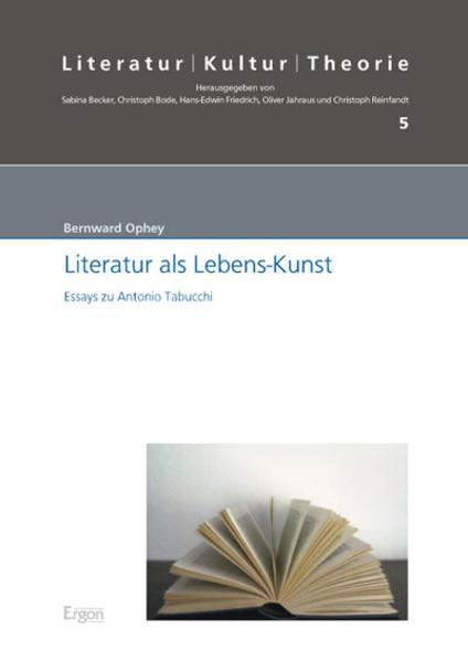 Literatur als Lebens-Kunst - Coverbild