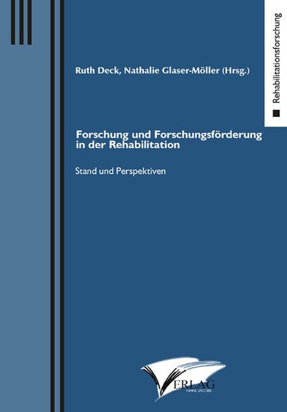 Forschung und Forschungsförderung  in der Rehabilitation - Coverbild