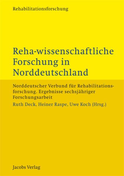 Reha-wissenschaftliche Forschung in Norddeutschland - Coverbild
