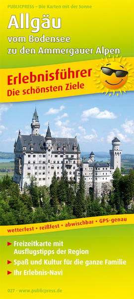 Allgäu - vom Bodensee zu den Ammergauer Alpen - Coverbild