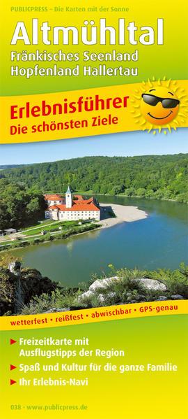 Altmühltal, Fränkisches Seenland - Hopfenland Hallertau - Coverbild