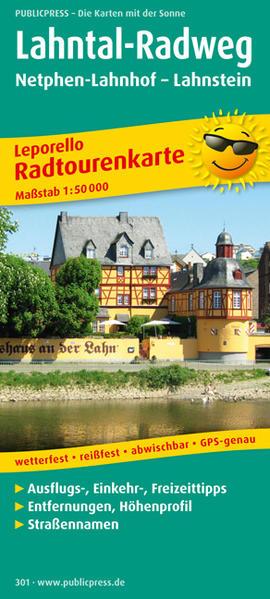 Lahntal-Radweg, Netphen-Lahnhof - Lahnstein - Coverbild
