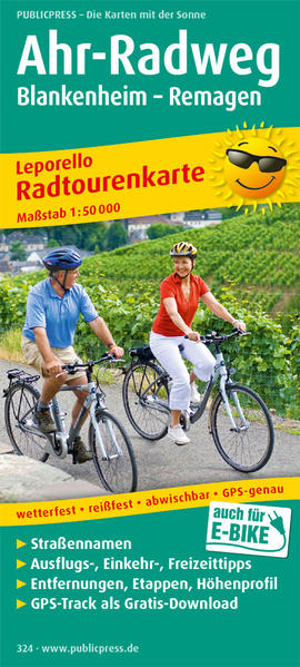 Ahr-Radweg - Coverbild