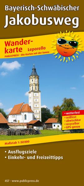 Bayerisch-Schwäbischer Jakobusweg - Coverbild