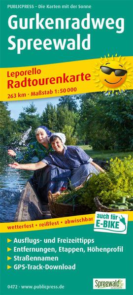 Gurkenradweg Spreewald - Coverbild