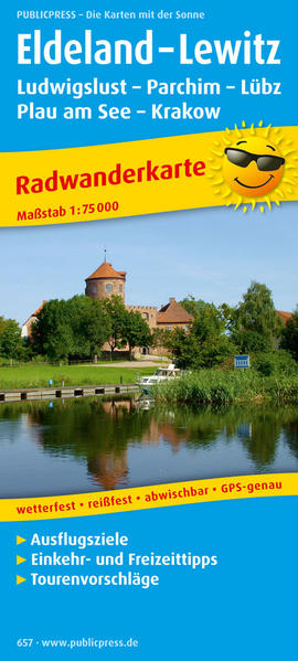 Eldeland - Lewitz, Ludwigslust - Parchim - Lübz - Plau am See - Coverbild