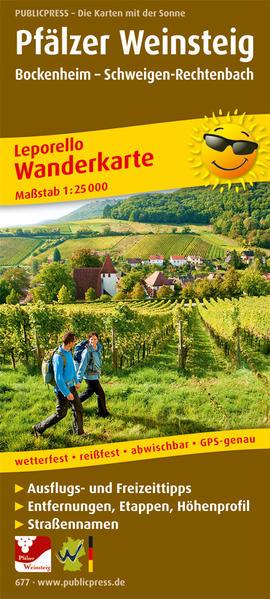 Pfälzer Weinsteig - Coverbild