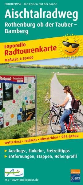 Aischtalradweg, Rothenburg ob der Tauber - Bamberg - Coverbild