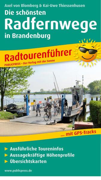 Die schönsten Radfernwege in Brandenburg - Coverbild