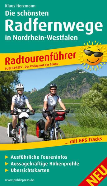 Die schönsten Radfernwege in Nordrhein-Westfalen - Coverbild
