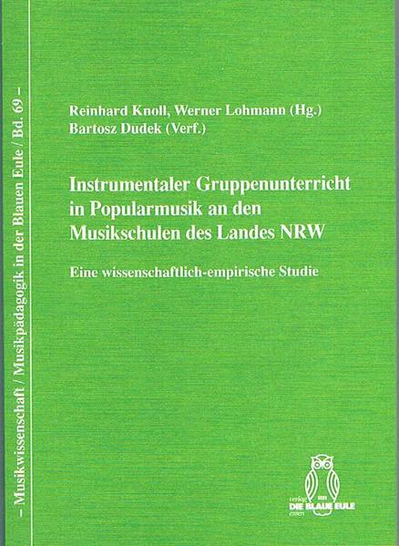 Instrumentaler Gruppenunterricht in Popularmusik an den Musikschulen des Landes NRW - Coverbild