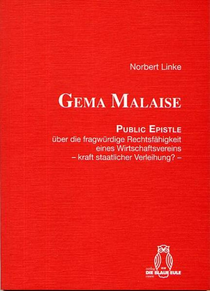 GEMA MALAISE - Coverbild