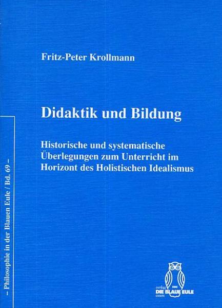 Didaktik und Bildung - Coverbild