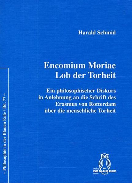 Encomium Moriae. Lob der Torheit - Coverbild