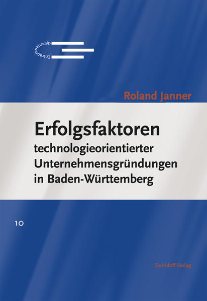 Erfolgsfaktoren technologieorientierter Unternehmensgründungen in Baden-Württemberg - Coverbild