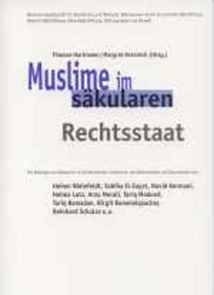 Muslime im säkularen Rechtsstaat - Coverbild