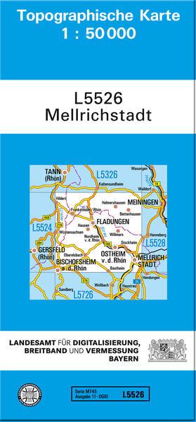 TK50 L5526 Mellrichstadt - Coverbild