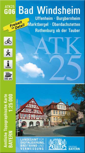 ATK25-G06 Bad Windsheim (Amtliche Topographische Karte 1:25000) - Coverbild