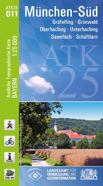 ATK25-O11 München-Süd (Amtliche Topographische Karte 1:25000) - Coverbild