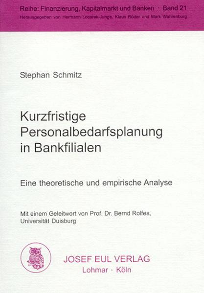 Kurzfristige Personalbedarfsplanung in Bankfilialen - Coverbild