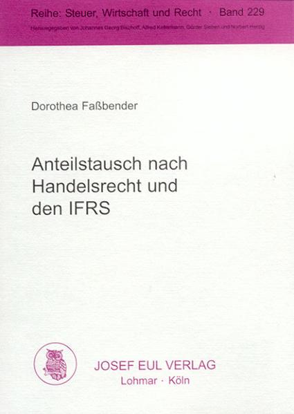 Anteilstausch nach Handelsrecht und den IFRS - Coverbild
