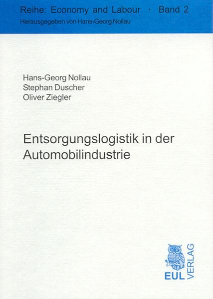 Entsorgungslogistik in der Automobilindustrie - Coverbild