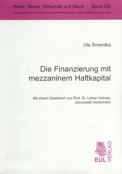 Die Finanzierung mit mezzaninem Haftkapital - Coverbild