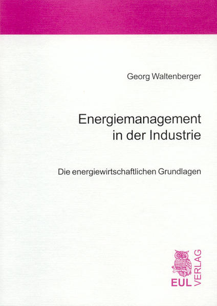 Energiemanagement in der Industrie - Coverbild
