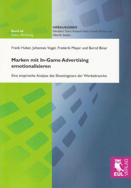 Epub Marken mit In-Game Advertising emotionalisieren Herunterladen