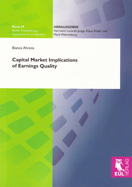 Capital Market Implications of Earnings Quality - Coverbild