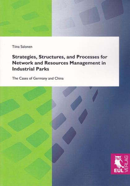 Strategies, Structures, and Processes for Network and Resources Management in Industrial Parks - Coverbild