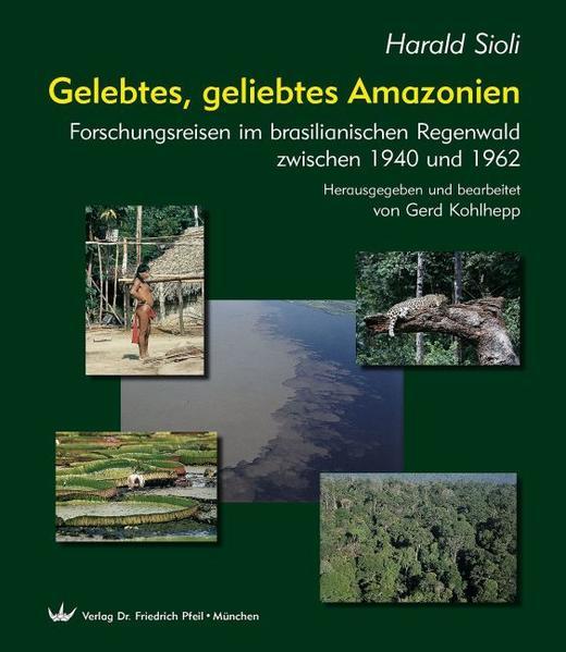Gelebtes, geliebtes Amazonien - Coverbild