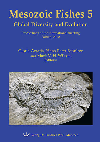 Mesozoic Fishes 5 – Global Diversity and Evolution - Coverbild