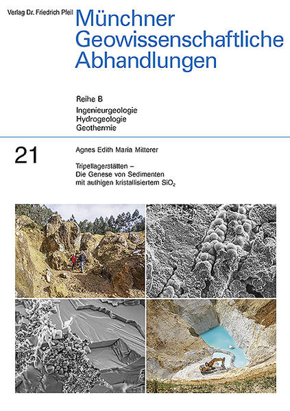Tripellagerstätten – Die Genese von Sedimenten mit authigen kristallisiertem SiO2 - Coverbild