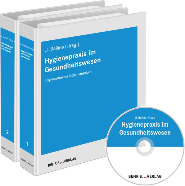 Hygienepraxis im Gesundheitswesen - Coverbild