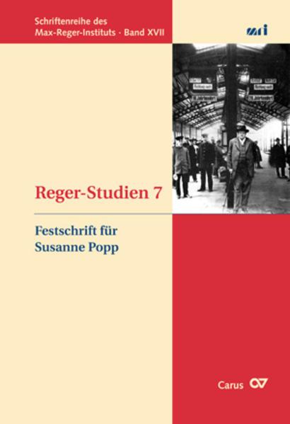 Reger-Studien 7 - Coverbild