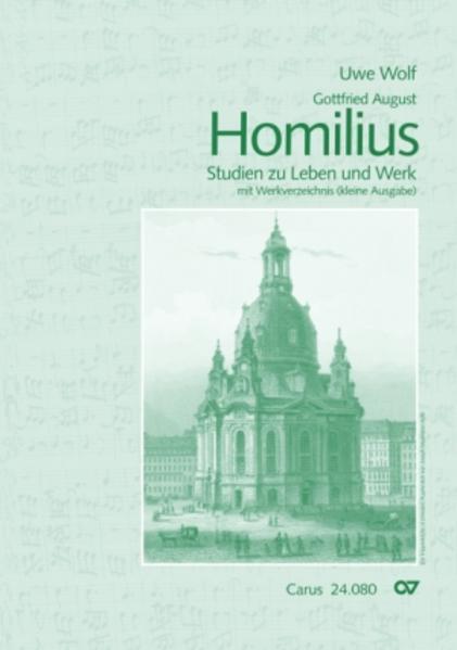 Gottfried August Homilius - Coverbild