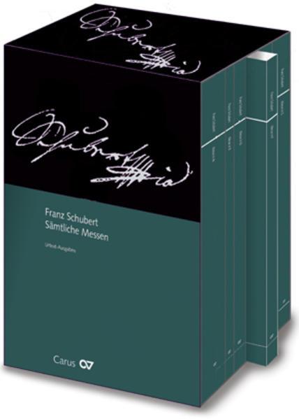 Franz Schubert: Sämtliche Lateinische Messen - Coverbild