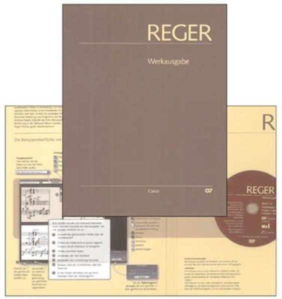Max Reger Werkausgabe - Coverbild