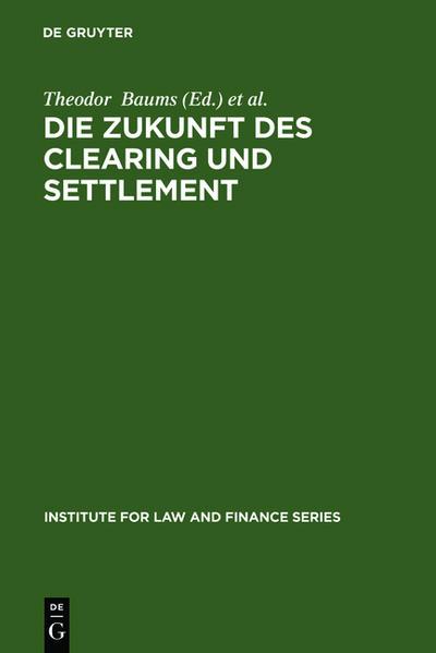 Die Zukunft des Clearing und Settlement - Coverbild