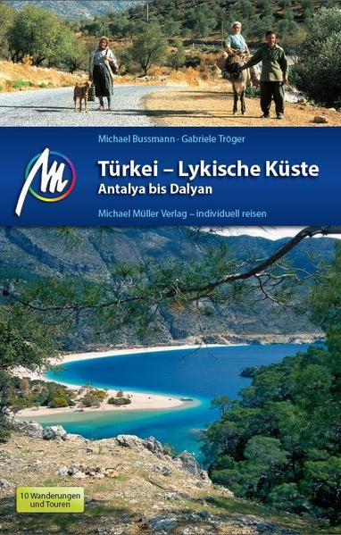 Türkei - Lykische Küste Antalya bis Dalyan - Coverbild
