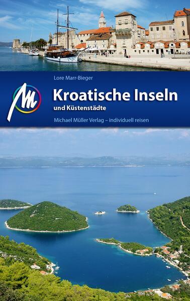 Kroatische Inseln und Küstenstädte - Coverbild