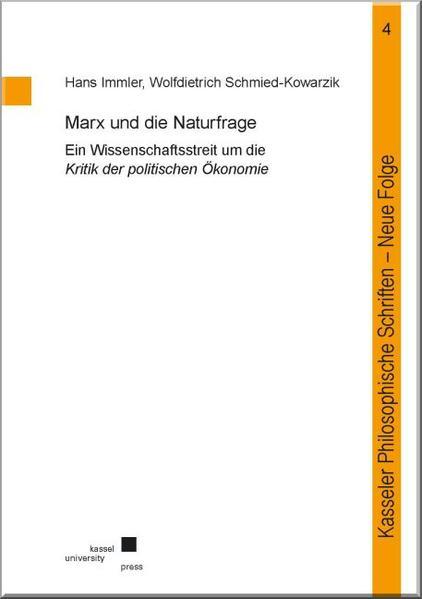 Marx und die Naturfrage - Coverbild