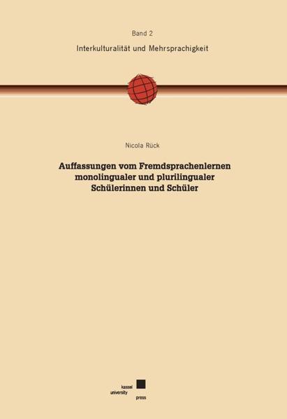 Auffassungen vom Fremdsprachenlernen monolingualer und plurilingualer Schülerinnen und Schüler - Coverbild